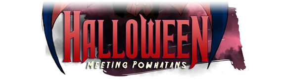 Halloween : meeting Powhatans