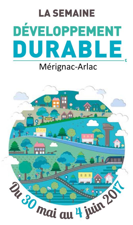 Programme de la semaine du développement durable à Mérignac-Arlac