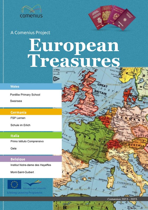Magazine Europe Treasures