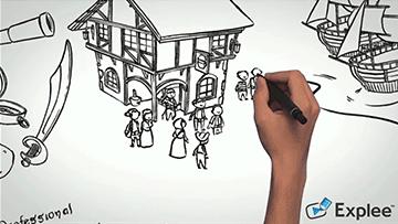 Explee permet aux professeurs de créer des vidéos animées en toute simplicité