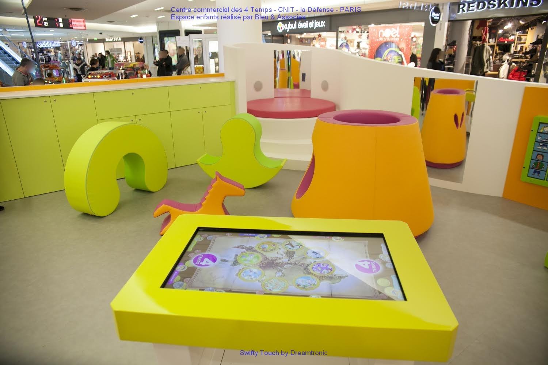 table tactile Dreamtronic CC les 4 temps Paris