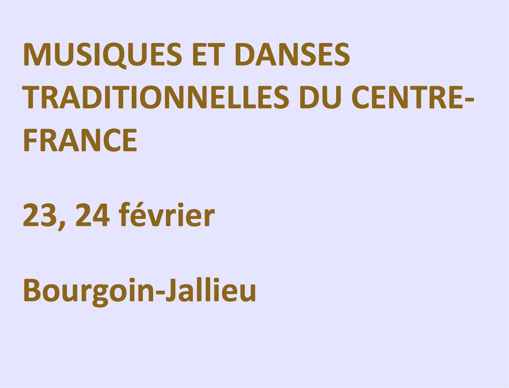 Musiques et danses traditionnelles