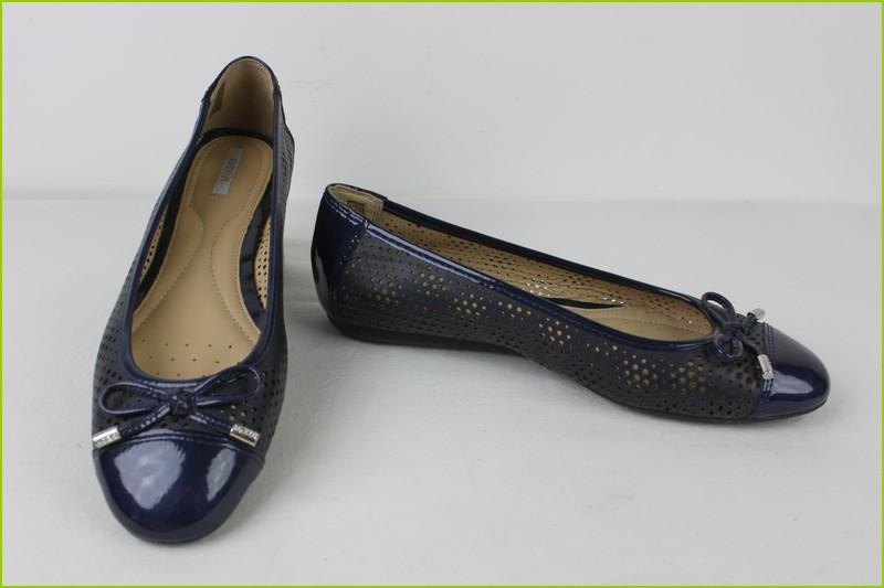 Ballerine cuir bleu ballerine femme vernis   Semagroup 124d435deed6