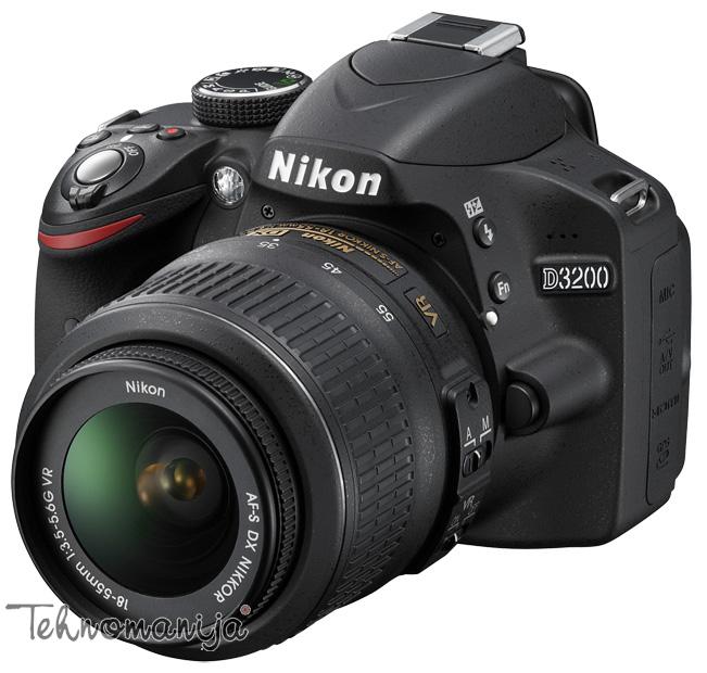 Nikon DSLR fotoaparat D3200 SET 18-55VR