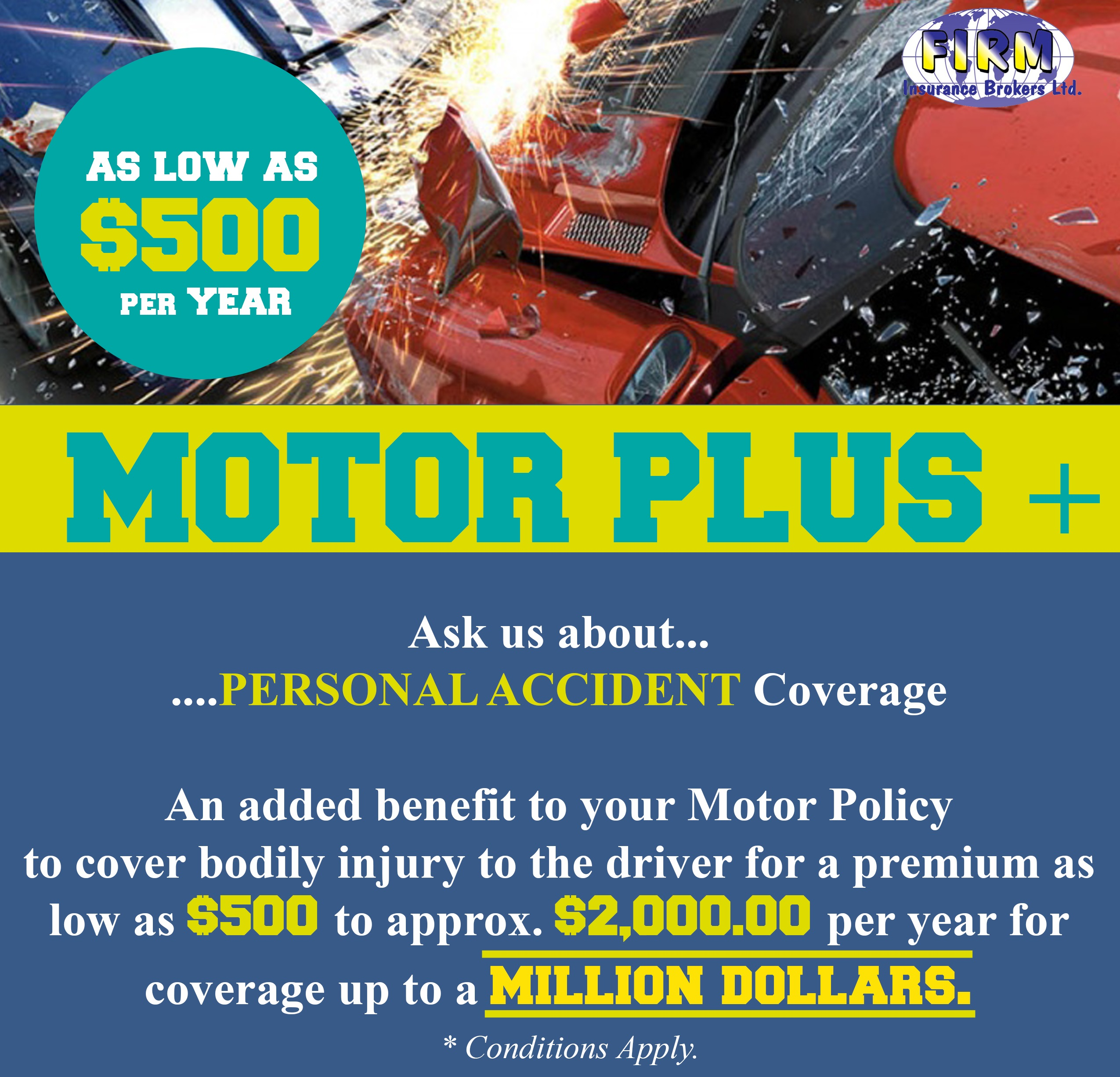 Motor Plus - Personal Accident Insurance