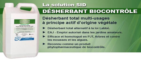 désherbant biocontrole