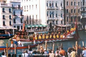 Régate historique Regata storica de Venise