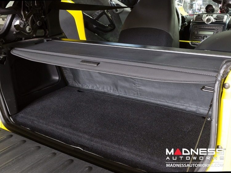 Smart Fortwo 451 Baggage Compartment Cover Aftermarket