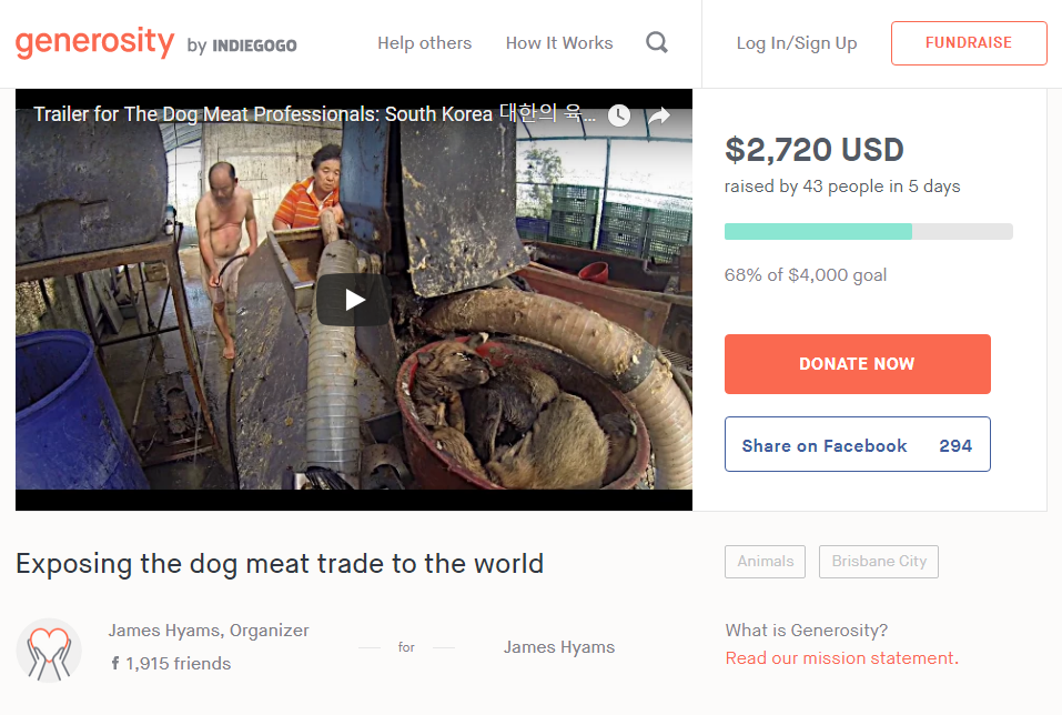 Exposing the dog meat trade to the world