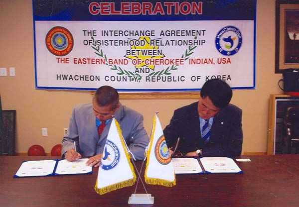 Sister City Campaign – Hwacheon, South Korea – The Eastern Band Of Cherokee Indians, North Carolina