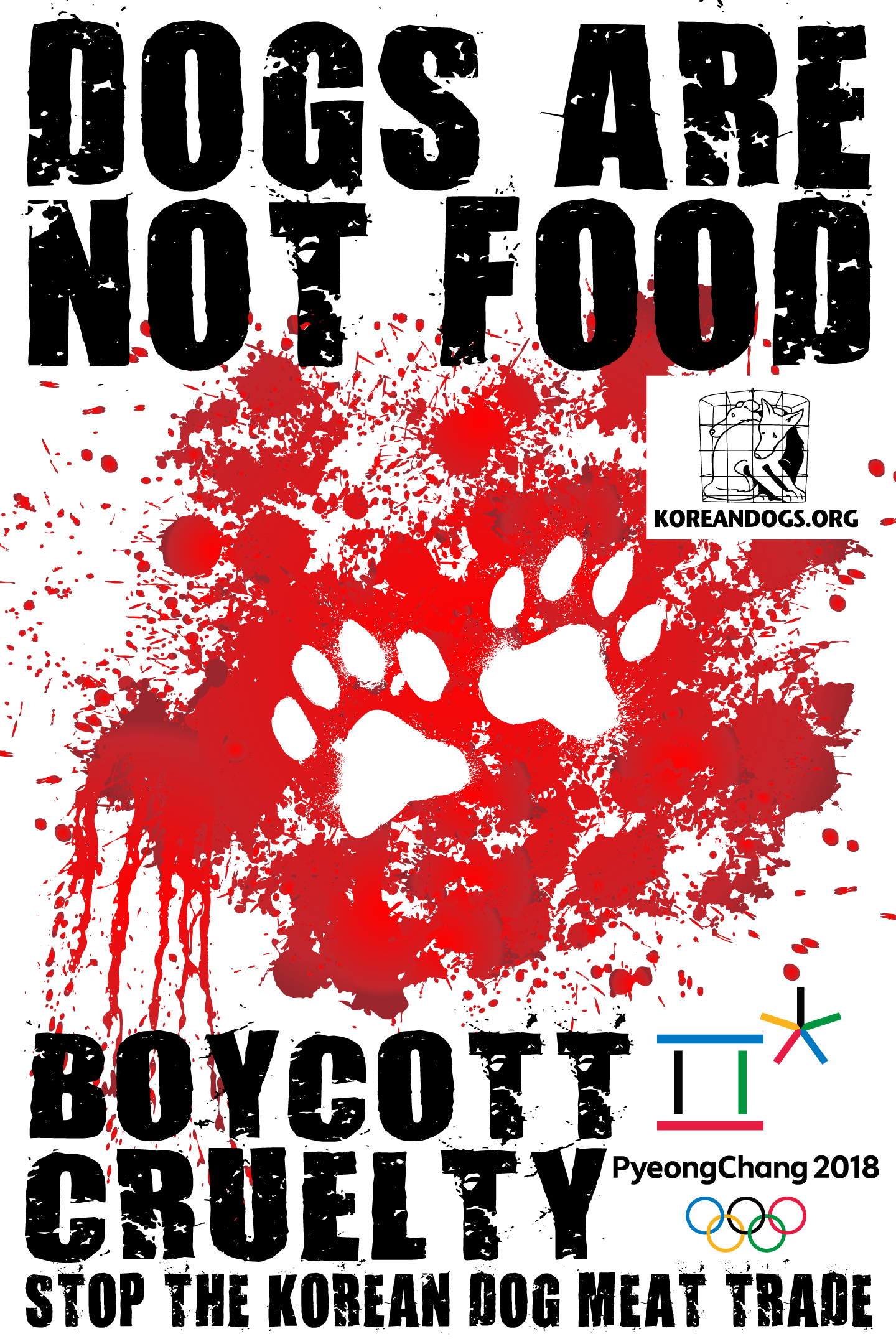 Boycott PyeongChang 2018 Action Center