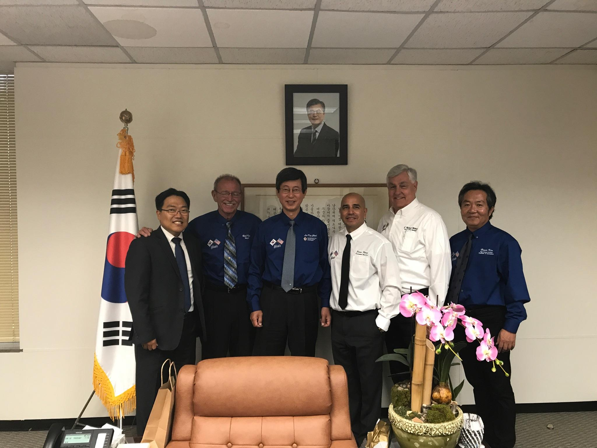 Adelanto seeks to strengthen ties with South Korea