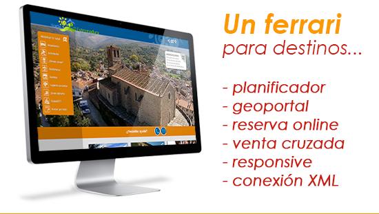 Planificador de turismo Norte de Extremadura