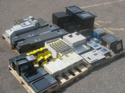 Auction for lot of PLC Controls