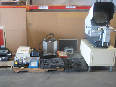 Inspection Equipment for auction today