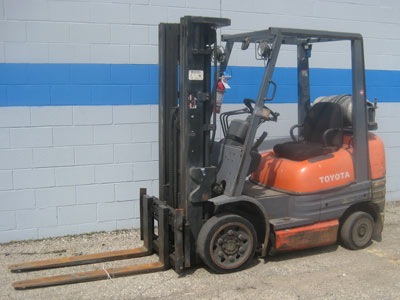 Mobile equipment available at auction