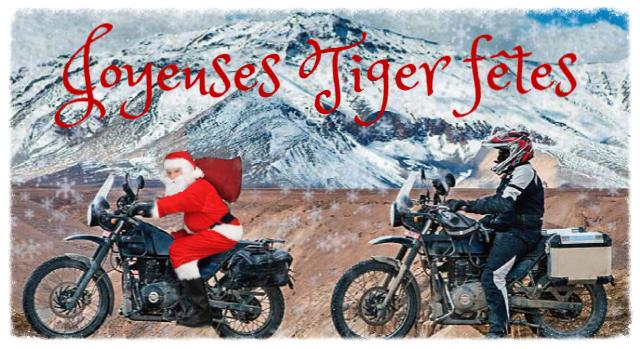 Joyeuses Tiger fêtes