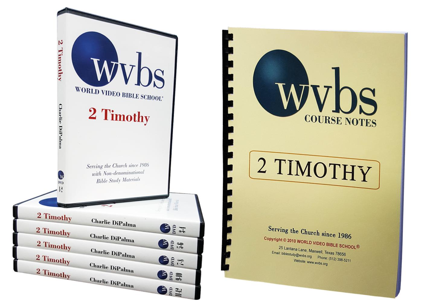2 Timothy 12-DVD set & Notebook