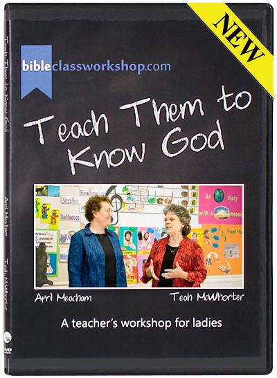 Teach Them to Know God