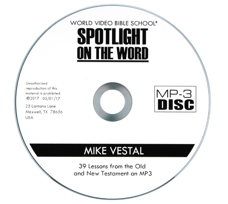 Spotlight on the Word MP3-CD