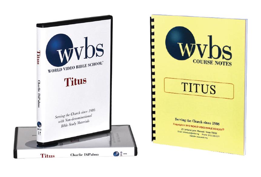 Titus 3-DVD set & Notebook