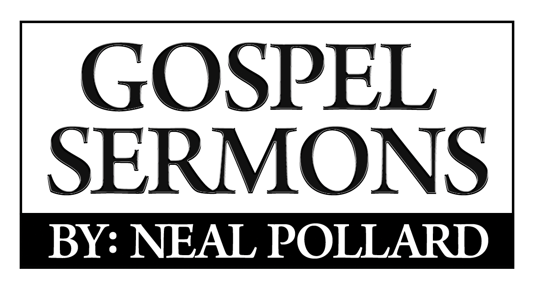 Gospel Sermons by Neal Pollard Audio USB