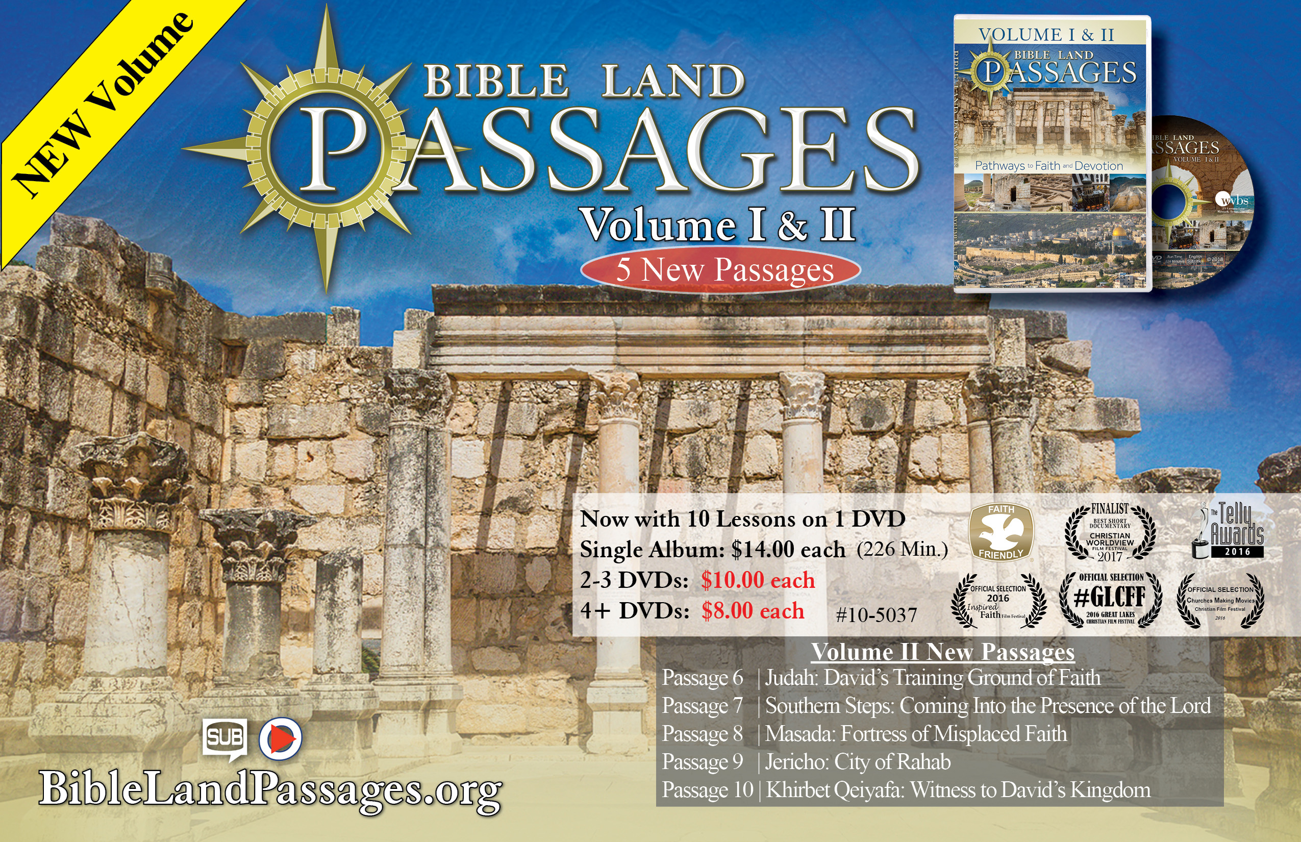 Bible Land Passages Volume I and II