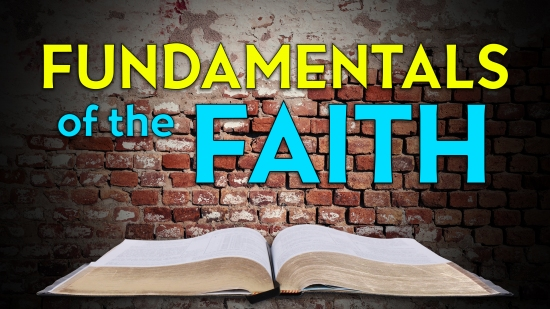 Fundamentals of the Faith