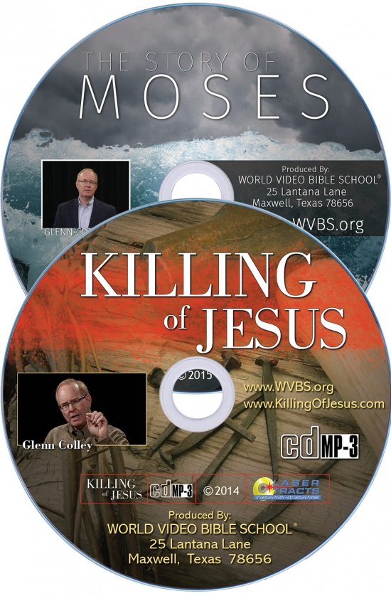 The Story of Moses and Killing of Jesus MP3 CDs