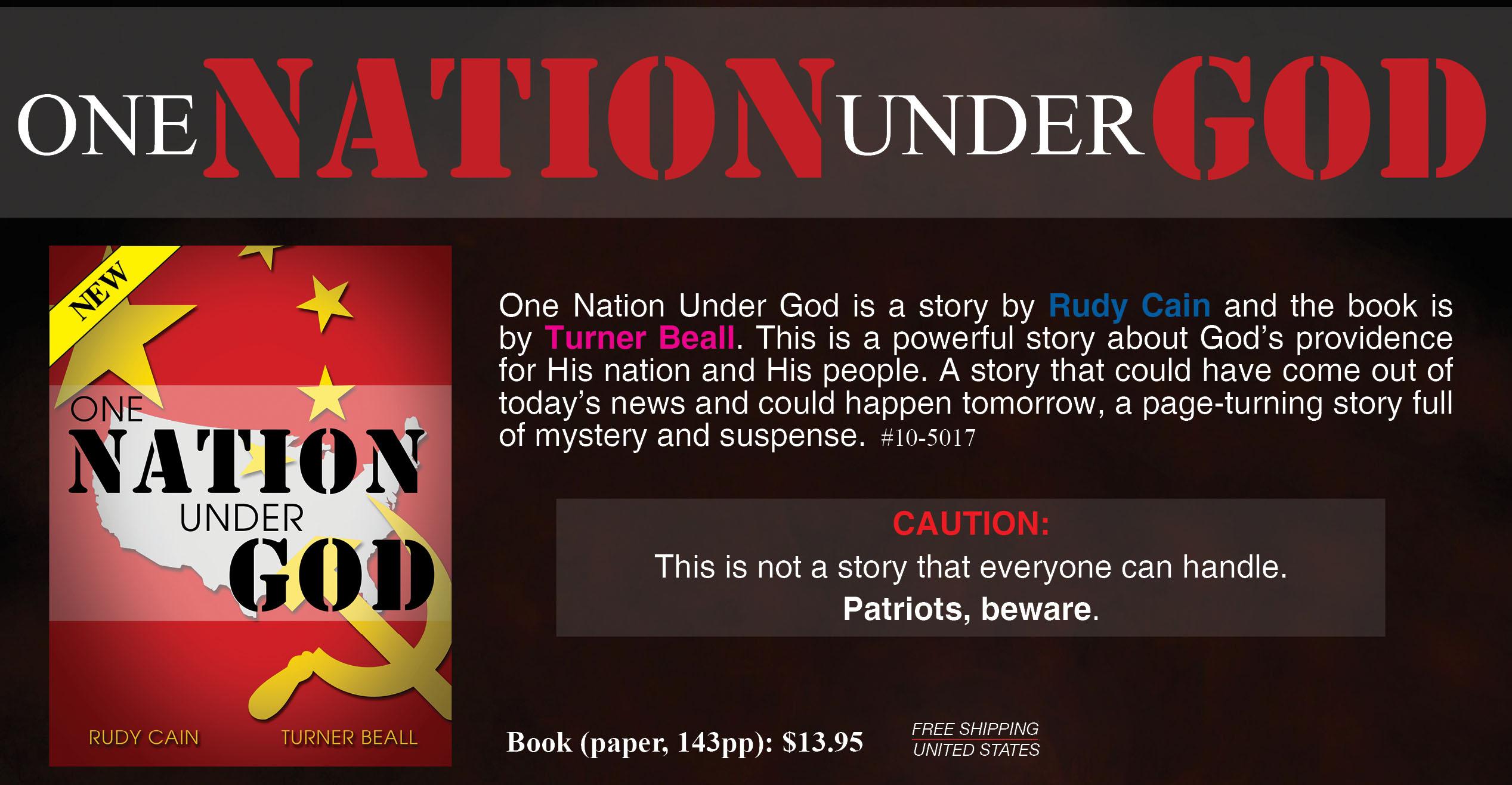 One Nation Under God Book