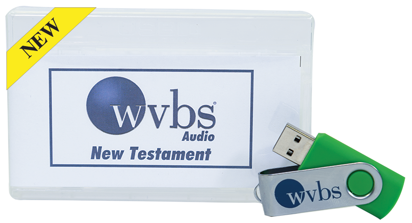 WVBS MP3 NEW TESTAMENT AUDIO COURSES