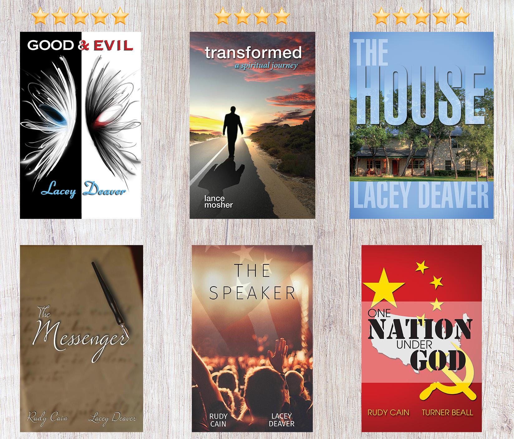 6-Book Novel Set