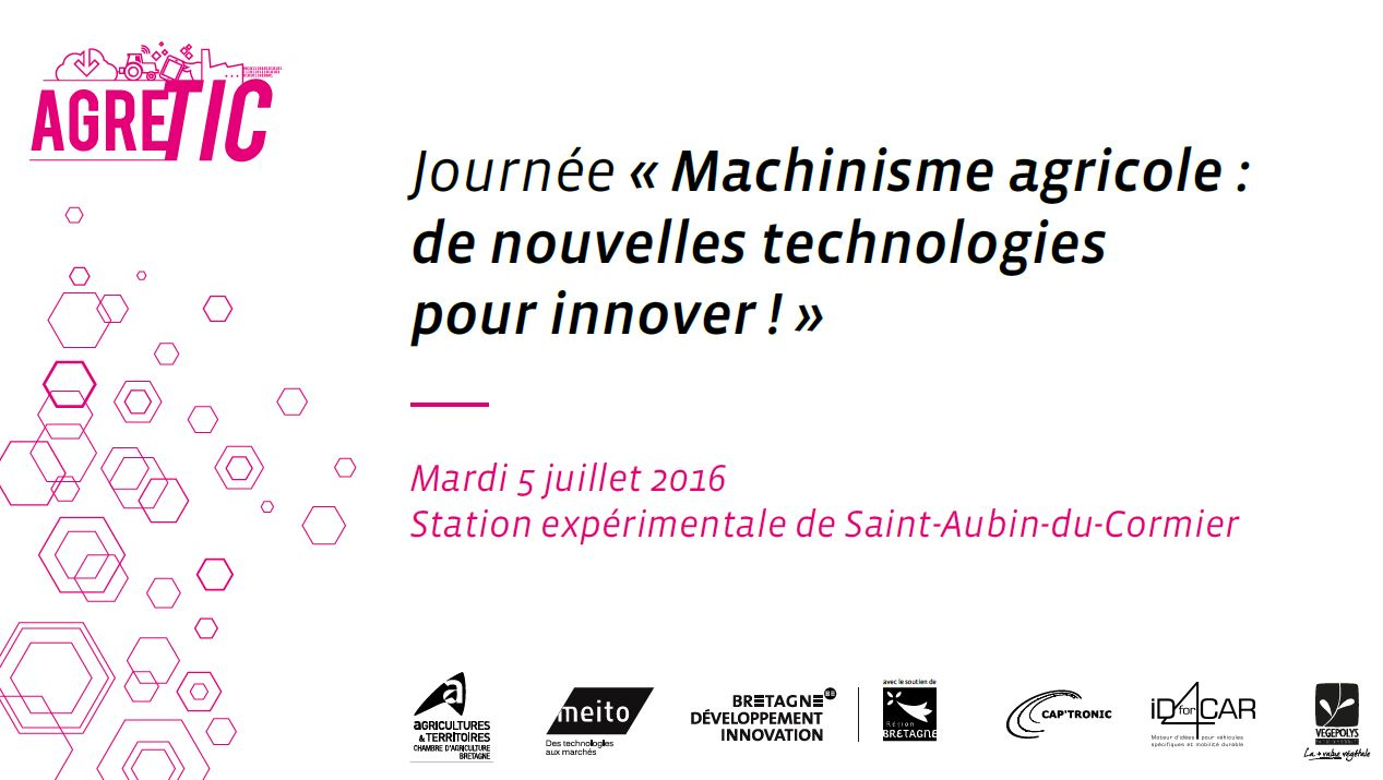 Machinisme Agricole, de nouvelles technologies pour innover