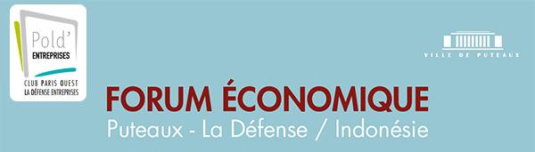 3ème Forum Economique Puteaux - La Défense / Indonésie