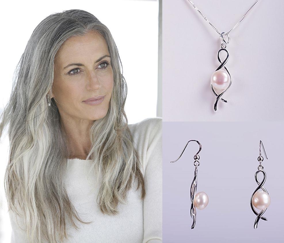 Bijuterii di argint 925 și perle de cultură