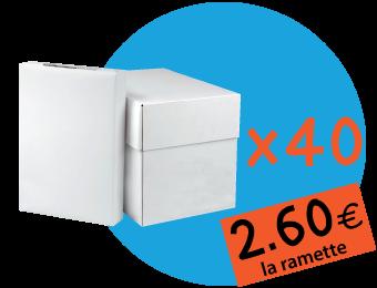 40 Cartons - 520,00€