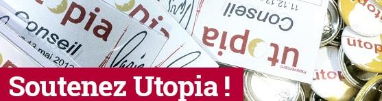 Soutenez le Mouvement Utopia en 2017 !