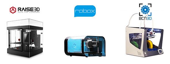 les imprimantes 3D distribuées par diStudio3D