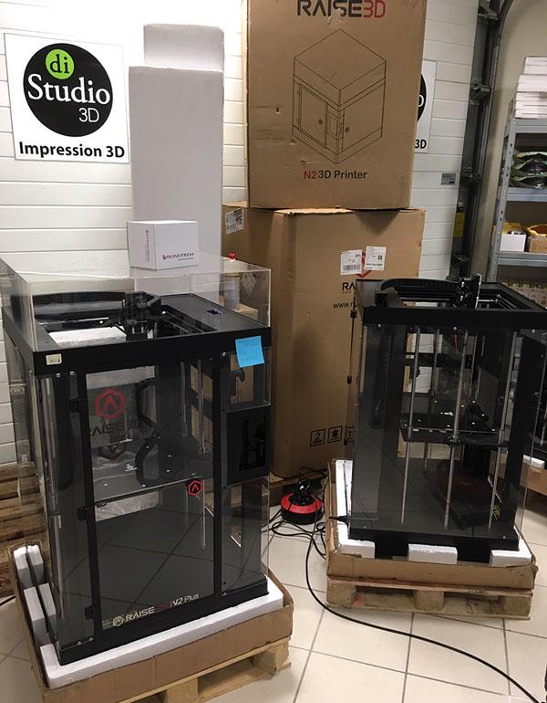 imprimantes 3D reconditionnées