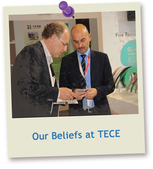 Our beliefs at TECE