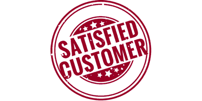 Satisfying our customers is our top priority...