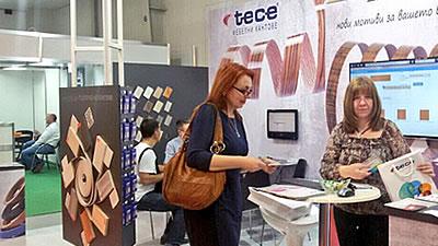 TECE was at Technomebel Exhibition in Sofia
