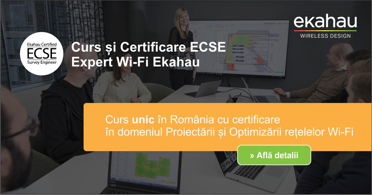 Curs Expert Ekahau