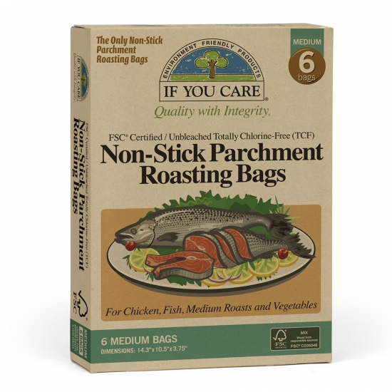 Non-stick Medium Parchment Bags - box of 6  - £5.15