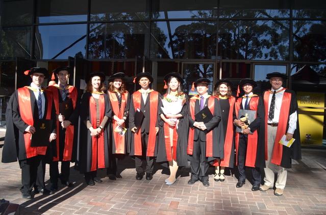 GWI PhD graduates