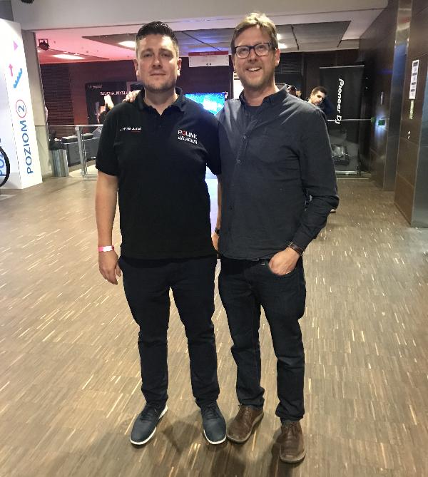 Michael Jantzen and Nick Lucas