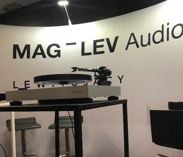 Mag Lev Audio Turntable