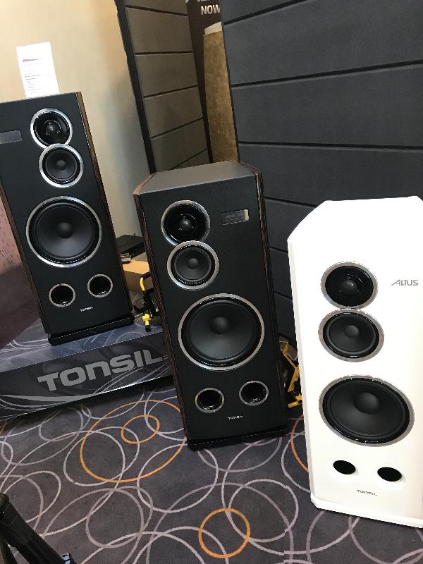 Tonsil loudspeakers