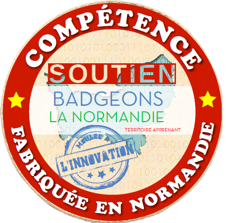Open Badges for building a learning territory in Normandy