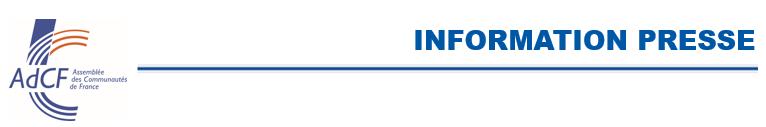 AdCF - Info Presse